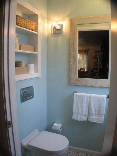 Photo Gallery On Website Small space without storage Add storage between studs to utilize unused space with one of these In Wall Storage Ideas