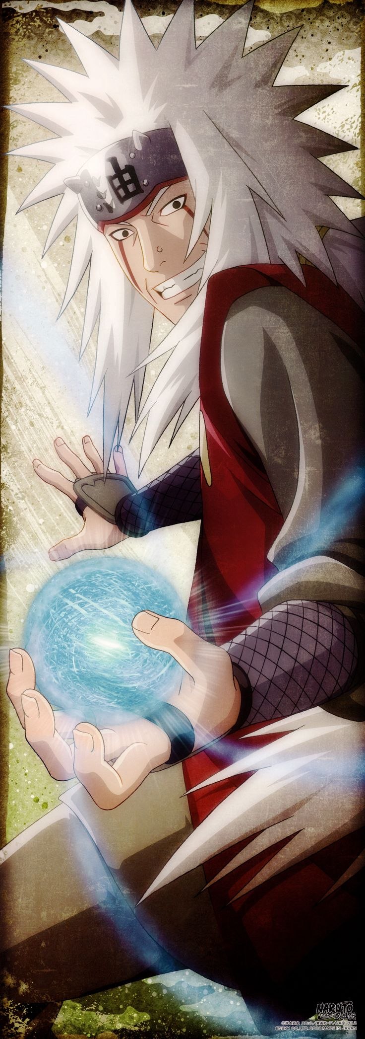 """""""Incluso yo puedo ver que hay demasiado odio en este mundo. Quiero hacer algo al respecto... pero no se de que manera hacerlo... aún así creo que... ¡en algún momento llegará el día en que todas las personas se entiendan unas a otras! Si no puedo encontrar la respuesta, ¡tú serás quien lo haga!"""" -Jiraiya a Naruto"""