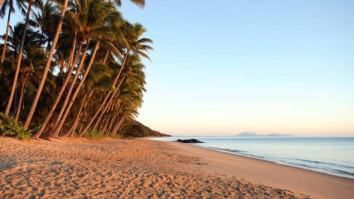 Family holiday destination: Alamanda Palm Cove. Pictured: Dawn on Ellis Beach, near Palm Cove. #family #holiday #Queensland