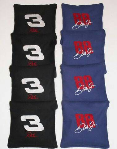 Check out this item in my Etsy shop https://www.etsy.com/listing/492504233/set-of-8-black-navy-blue-dale-earnhardt