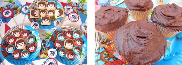 PLAYMOBIL Cookies for a PLAYMOBIL-themed party