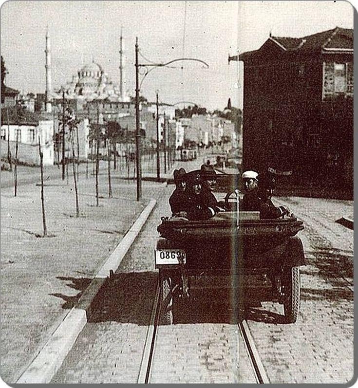 Fevzipaşa Caddesi - Fatih 1930'lı yıllar