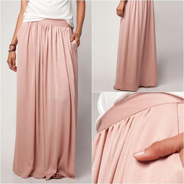 falda+larga+bershka.jpg (601×601)