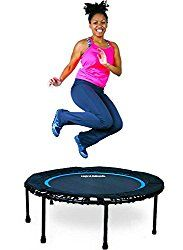 One of the best mini trampolines is the Leaps and Rebounds