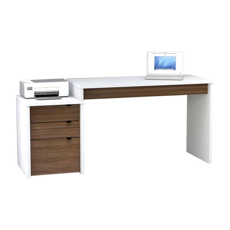 1000 images about desks on pinterest floating desk computer desks and home collections - White corner office desk ...