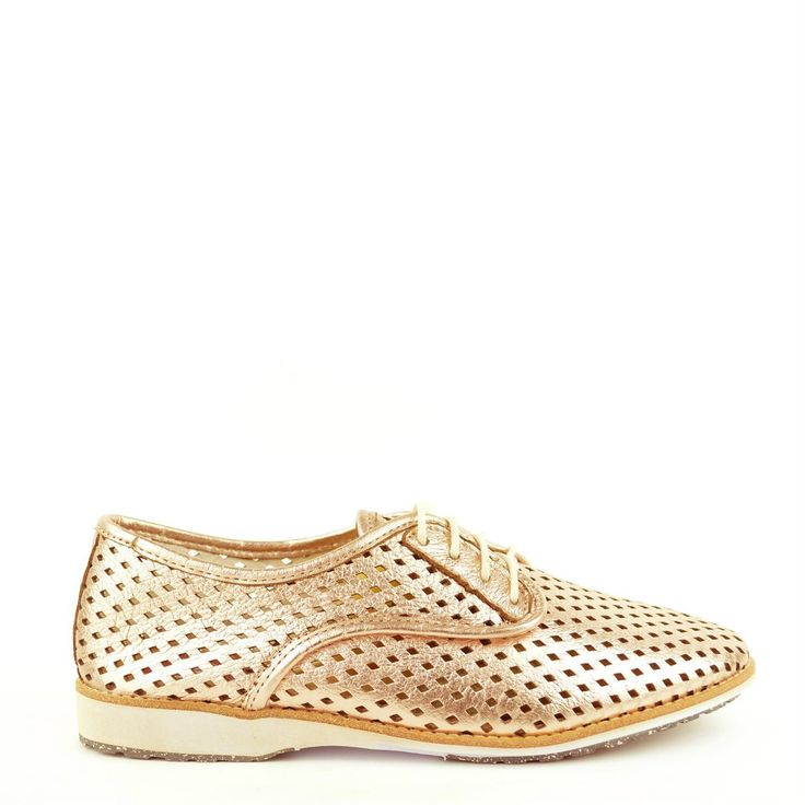 Rollie Durby Gold Leather - Dames - Oxener Schoenen