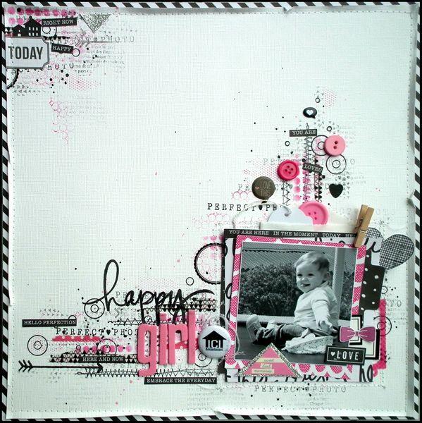 25 best ideas about happy girls on pinterest pretty - Materiel scrapbooking pas cher ...
