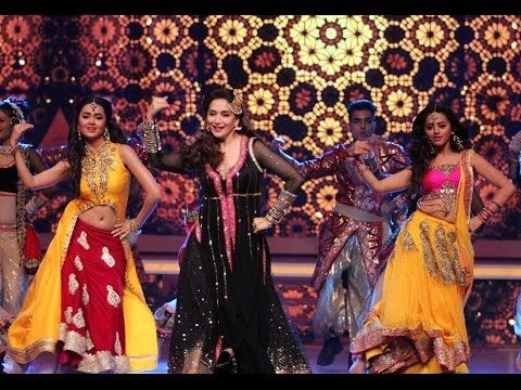 The real beauty in Bollywood Madhuri Dixit looks stunning in this dress when she is dancing