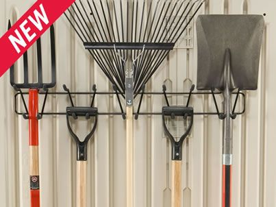 Tool and Sports Rack | Shed Accessories | Outdoor Storage | Rubbermaid