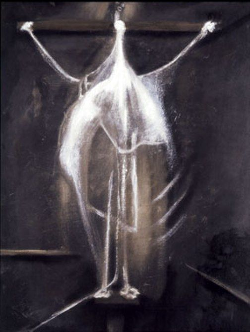 Crucifixion (1933) by Francis Bacon - I saw this in the flesh at Art Gallery NSW http://www.artgallery.nsw.gov.au/exhibitions/francis-bacon/