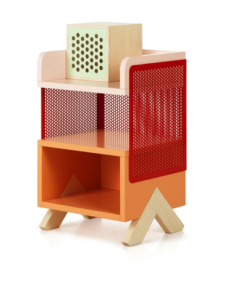 The Peep Storage Units by Note Design Studio