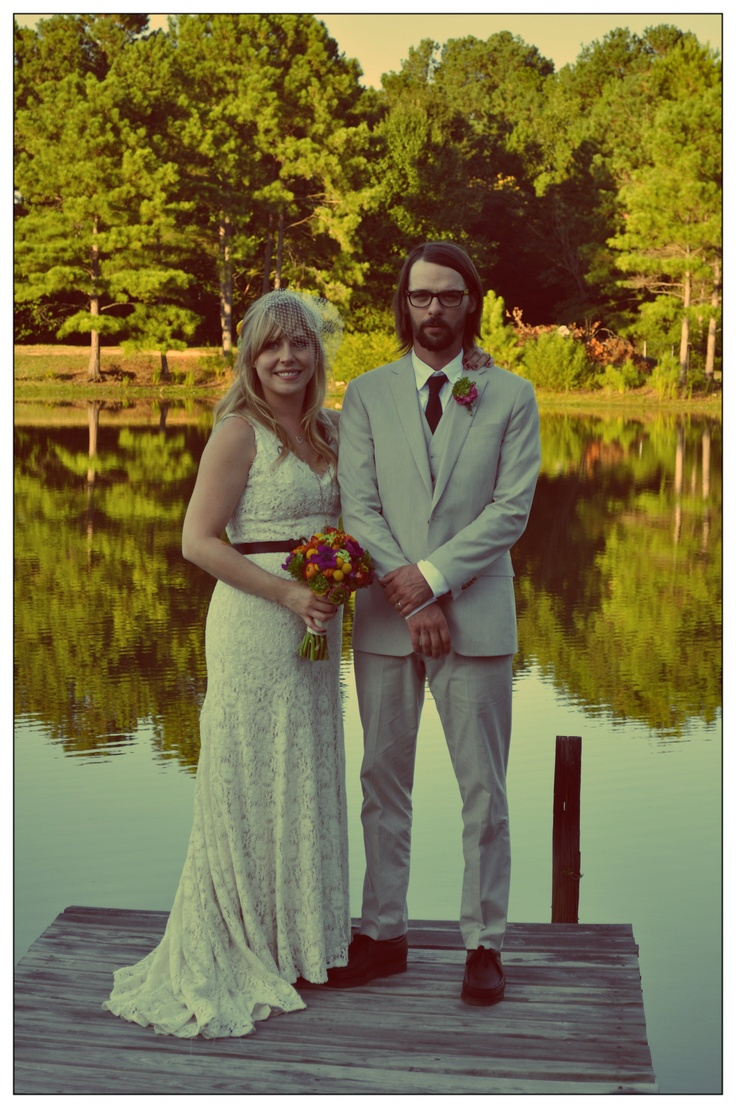 have your wedding a someones house, by a lake lol cheap and beautiful.