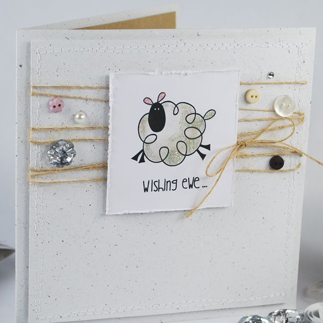 Just For Ewe Image Stamp