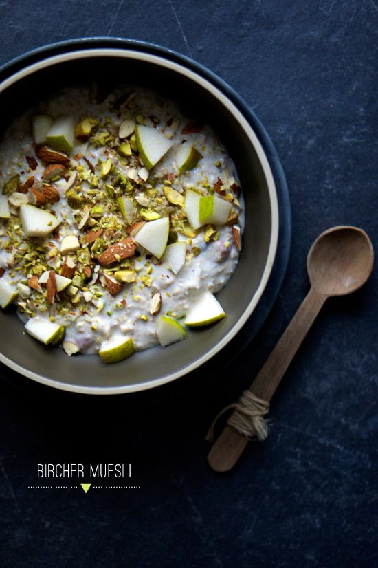 Pear, Pistachio Oatmeal via The Food Club #recipe
