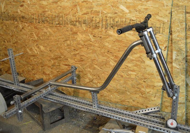 Bicycle Frame Building Jig Plans