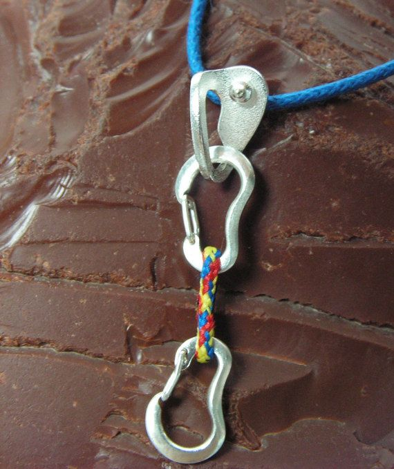 Climbing Quickdraw and Bolt Hanger FULLY FUNCTIONAL
