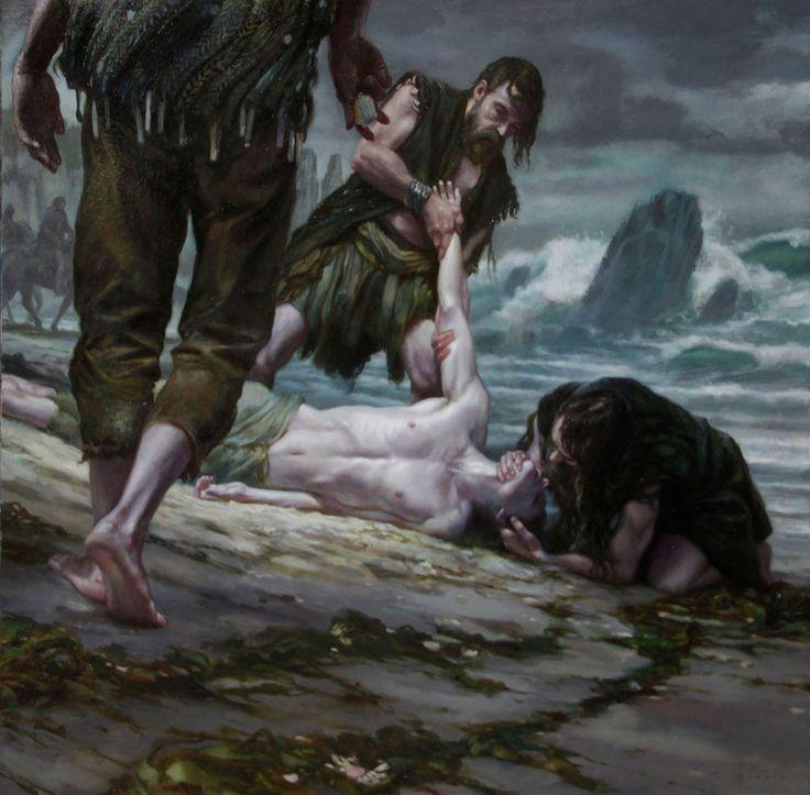 Aeron Greyjoy - Damphair - A Song of Ice and Fire by DonatoArts.deviantart.com on @deviantART