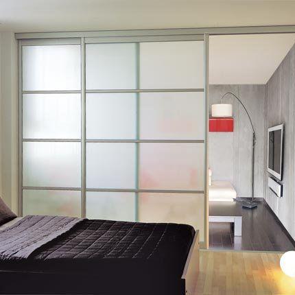 Des portes coulissantes pour agrandir et d corer votre int rieur photos ma - Cloison coulissante castorama ...