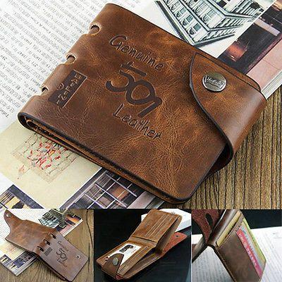 Fashion Mens Genuine Leather Bifold Wallet Credit/ID Card Holder Slim Coin Purse https://t.co/jnQT6PJKRE https://t.co/4k24u5V8lR