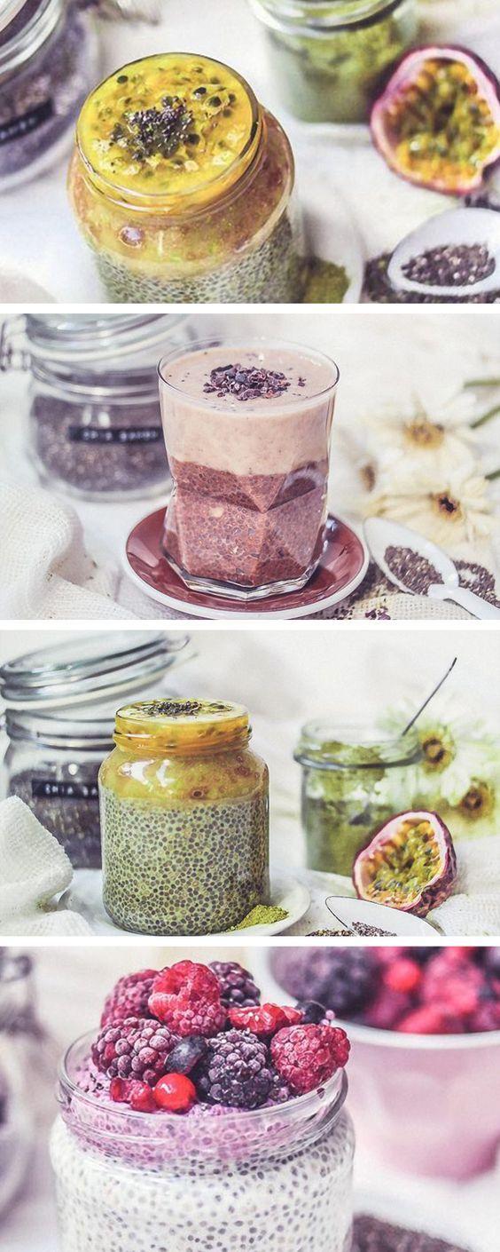 3 recetas veganas para preparar puding de chía: