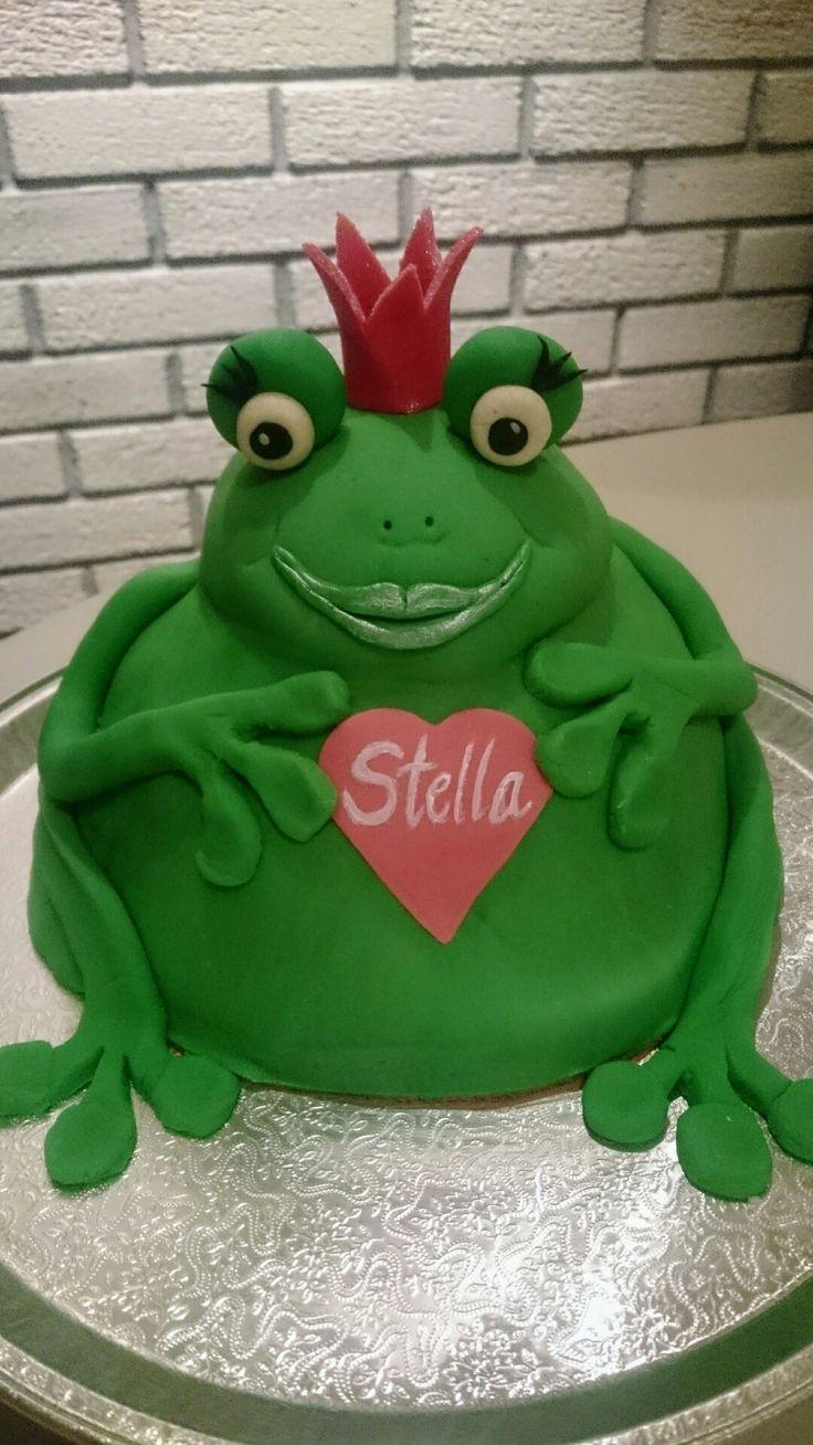 Froske-prinsesse kake