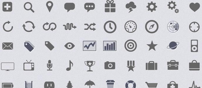 500+ Web Icons (psd)