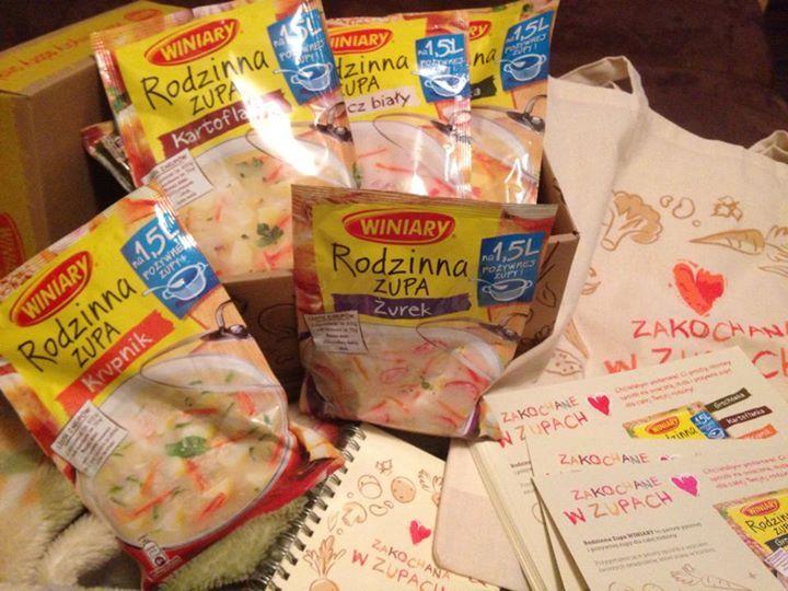 Zakochana w zupach #Ambasadorkawiniary Kluskowopl :) #Rekomendujto