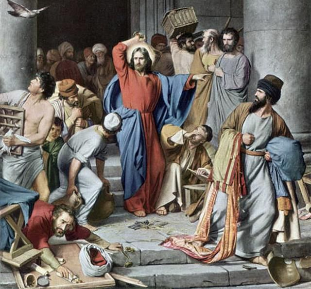 Holy Week Timeline: Relive the Steps of Jesus: Holy Week - Day 2: Monday Jesus Clears the Temple