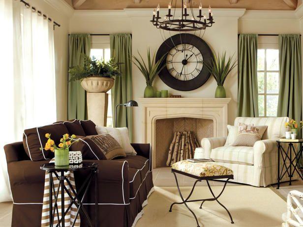 I like the clock over the fireplace