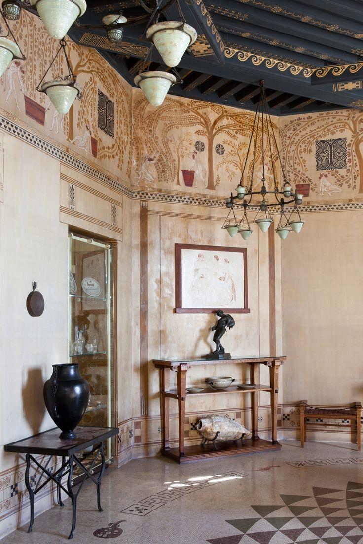 les 208 meilleures images du tableau villa kerylos sur. Black Bedroom Furniture Sets. Home Design Ideas