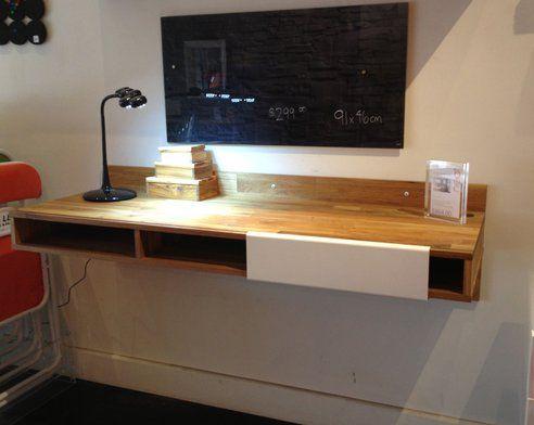 Best 25 Wall Mounted Desk Ideas On Pinterest Desk On