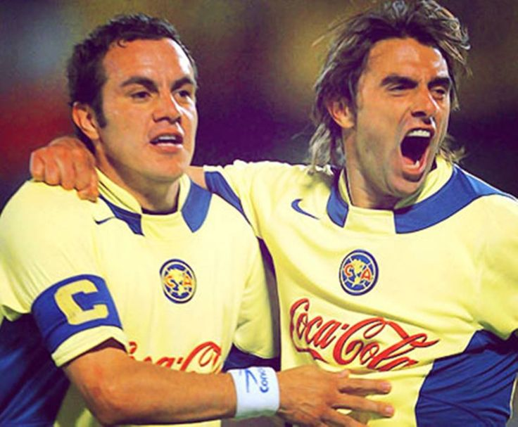 Cuauhtemoc Blanco y Claudio Lopez - Idolos Americanistas