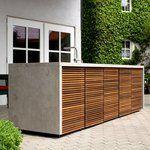 Außenküche, Holzbackofen und Gasgrill auf Gardelino!