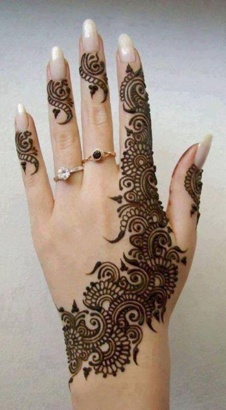 really want a henna design