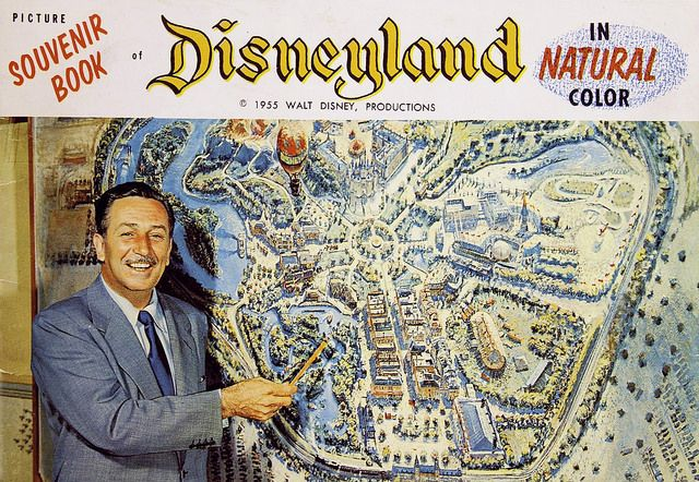 1955 Picture Souvenir Book of Disneyland | Tom Simpson | Flickr