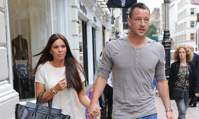 John Terry takes wife Toni on shopping spree after Chelsea's CL win