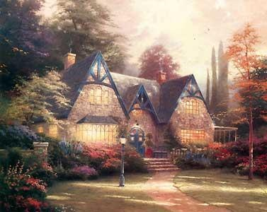 17 Best Images About Kincade Paintings On Pinterest
