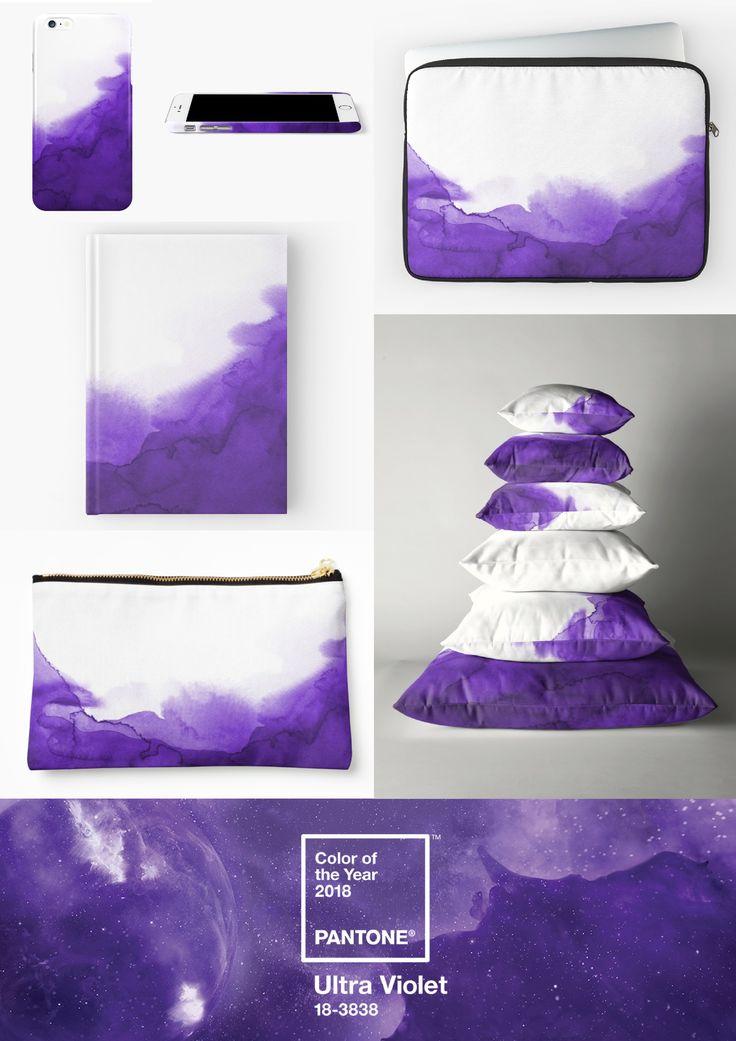 Mens Silk Pocket Square - The Ultra Violet Trend by VIDA VIDA nxPgq4gljw