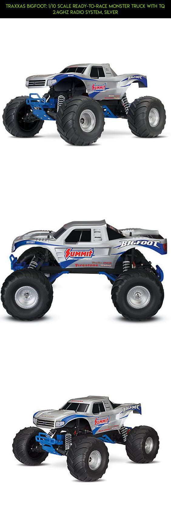Traxxas Bigfoot: 1/10 Scale Ready-To-Race Monster Truck with Tq 2.4Ghz Radio System, Silver #fpv #products #technology #traxxas #plans #shopping #tech #gadgets #parts #kit #bigfoot #camera #drone #racing