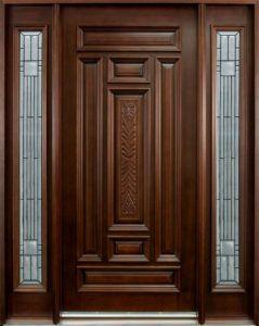 Latest Wooden Front Door Designs