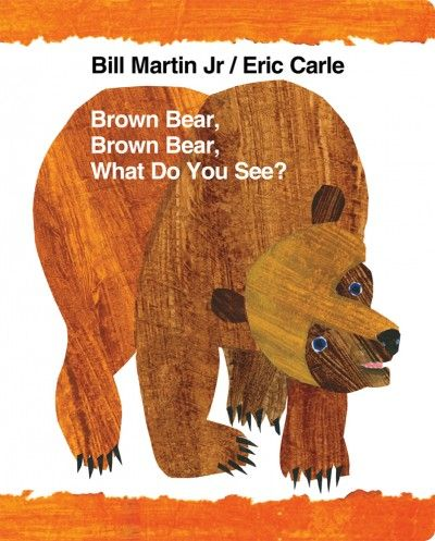 "How to read ""Brown Bear"" to get your child talking (written for toddlers, but the activities are super-useful for children with language delays"