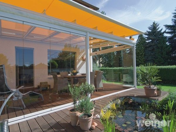 Glass Room with Awning