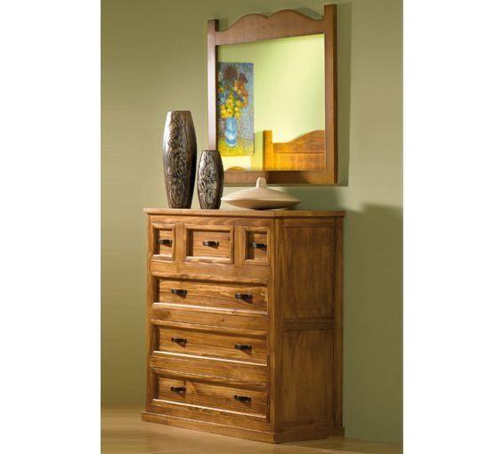 C moda estilo r stico el mueble perfecto para tu hogar - Muebles estilo rustico ...