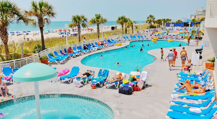 Bay Watch Resort & Conference Center: A Welcoming Oceanfront North Myrtle Beach Resort | Oceana Resorts by Wyndham Vacation Rentals