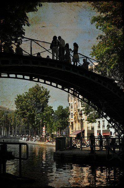 #photo Quai de Jemmapes #Paris10 #PEAV @Menilmuche @aubordducanal