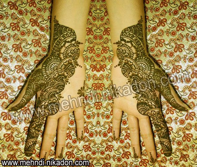Mehndi Patterns Meaning : Mehndi designs meanings makedes