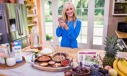 Home & Family - Recipes - Sophie Uliano's Morning Smoothie | Hallmark Channel