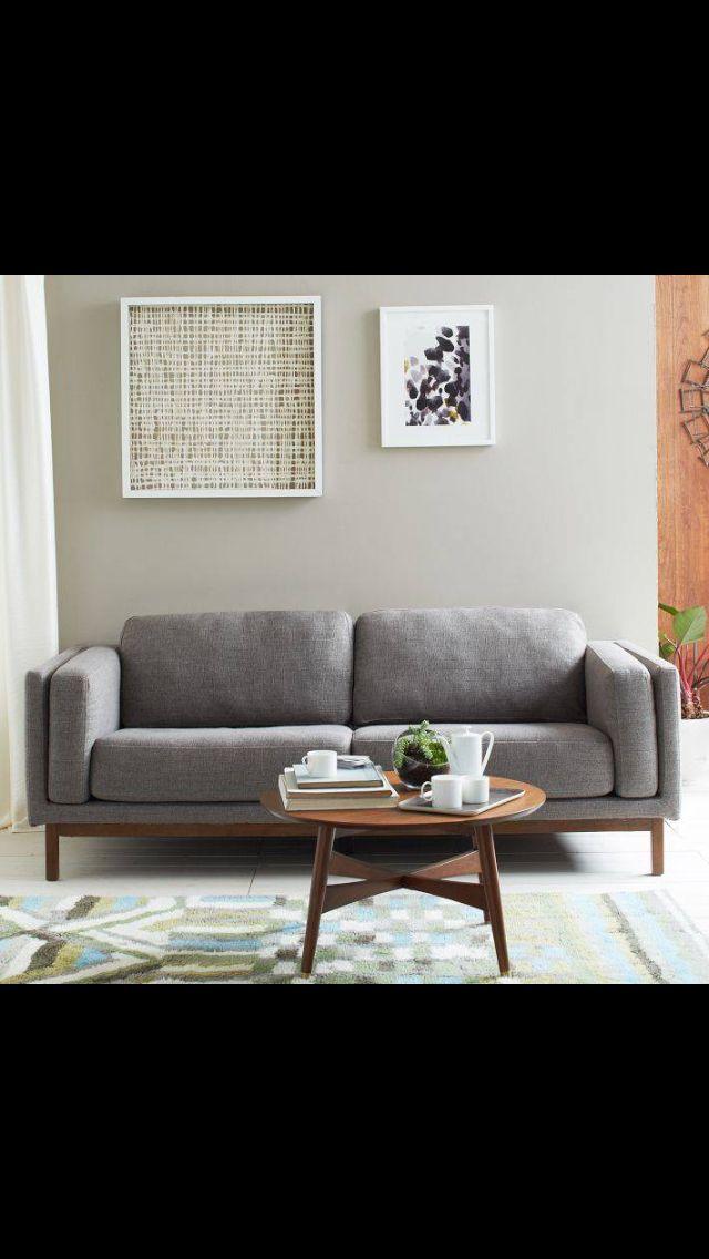 west elm living room home sweet home fab home decor pinterest. Black Bedroom Furniture Sets. Home Design Ideas