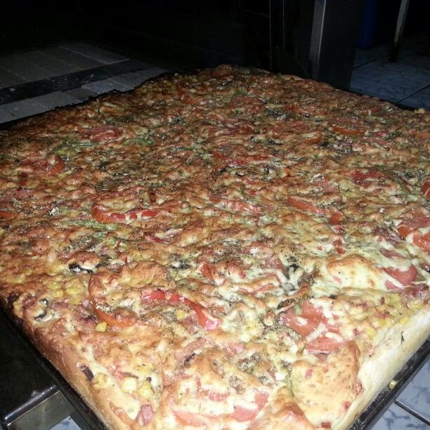 Monster pizza del Chef