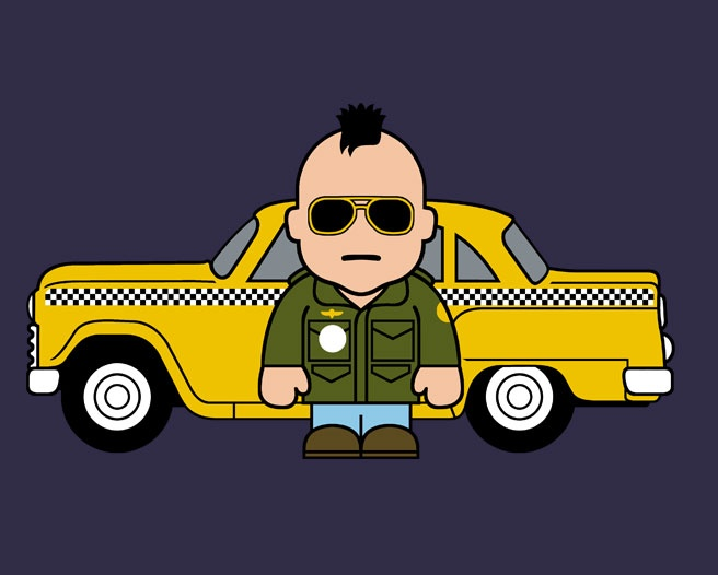 Who's your fantasy cab driver and why? Pic from a t-shirt on Toonstar.